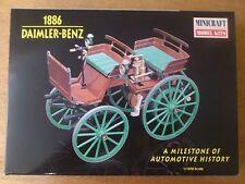 1:16 Minicraft Nr. 11205 Daimler-Benz 1886 Automotive History. Bausatz. OVP