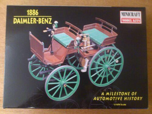 11205 Daimler-Benz 1886 Automotive History Bausatz OVP 1:16 Minicraft Nr