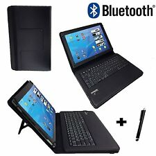 "10.1"" Quality Bluetooth Keyboard Case - Wortmann Terra Pad 1061 Tablet - Black"
