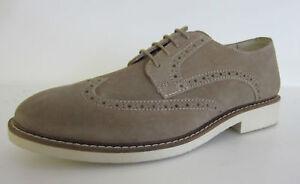 nouveau produit 2a8e5 4dbb4 Détails sur Am Shoe Company 274 Hommes Marbre Cuir Daim Chaussure Lacet  (R30a) ( Kett )