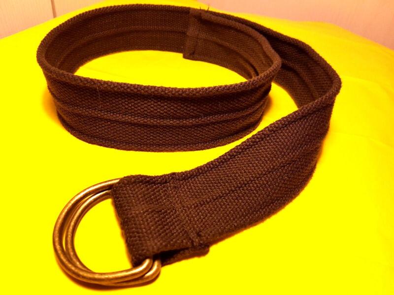 Gü106-textil Braun 5 Cm Breit 95 Cm Lang M S Damen Taillen Kleid Hüft Gürtel üBereinstimmung In Farbe