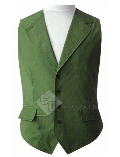 Batman the Dark Knight Joker Green Halloween Vest Cosplay Costume