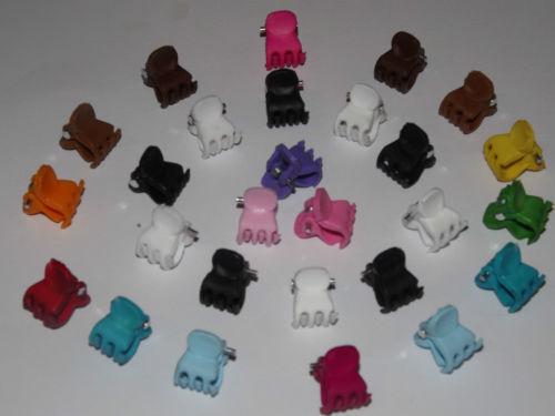 cauotchouc x6 Mini Mini Small  Hair Clips Claws Clamps Hair Accessories