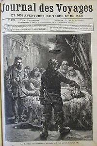 Zeitung-der-Voyages-Nr-100-von-1879-Cadaver-Huette-Indianer-Chateau-Clisson
