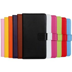 LG-G5-Premium-Leather-PU-Flip-Wallet-Book-Case-Cover-Cash-ID-Holder-Free-Glass