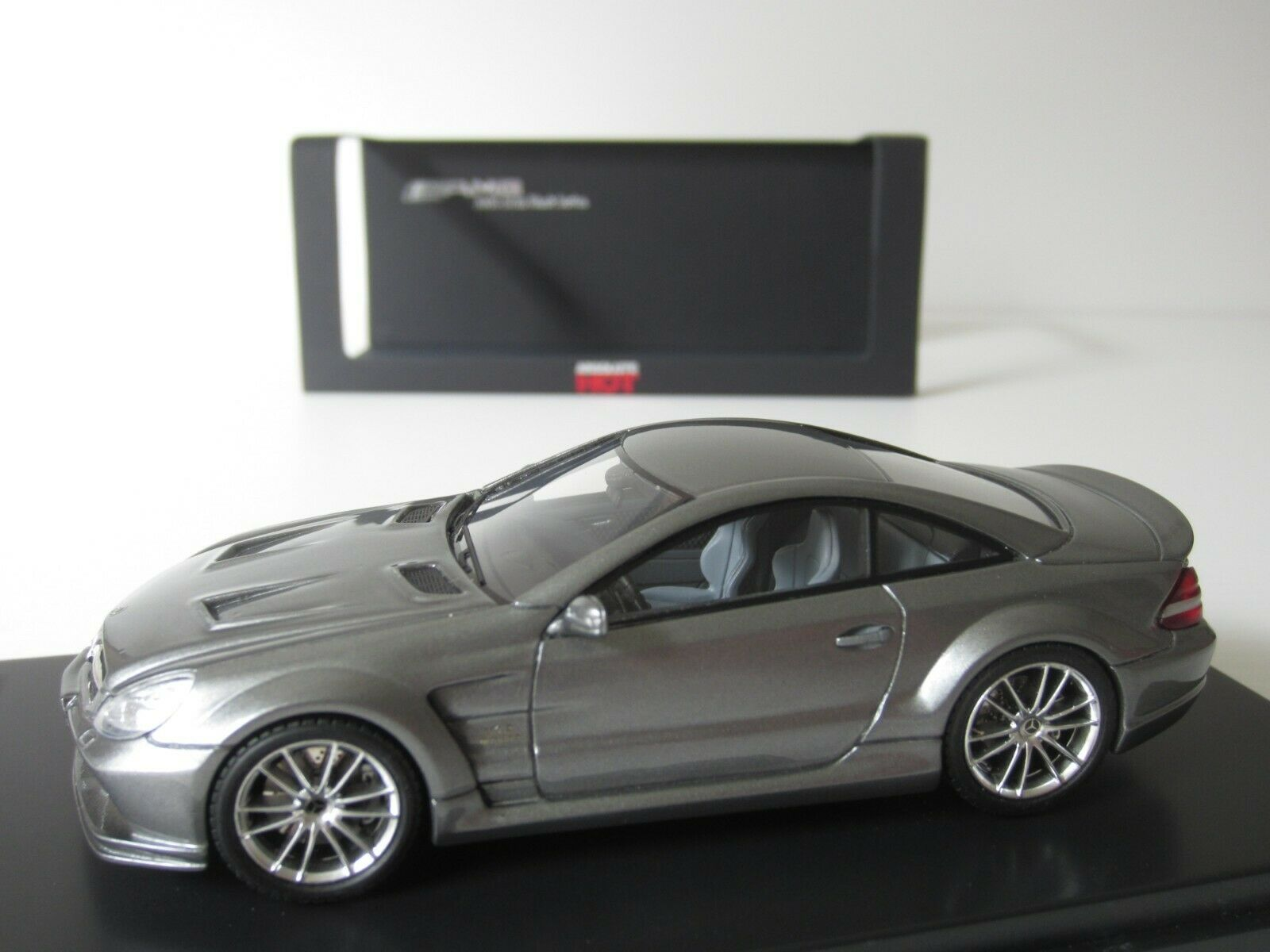 ABSOLUTE HOT, HOT, HOT, MERCEDES-BENZ SL65 AMG in CARBON GREY, 1 43 Scale NEW RESIN MODEL 0e736c