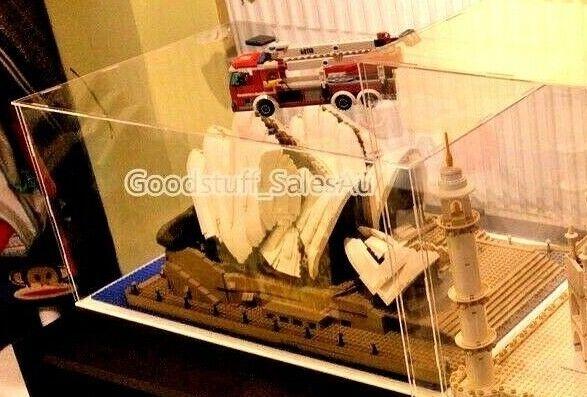 Lego display case for  LEGO Sydney Opera House 10234 ( Australia seller )
