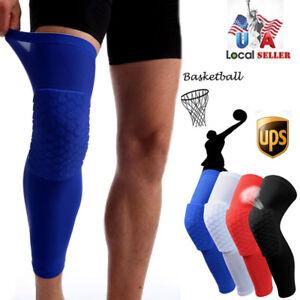 Hot Kids Adult Basketball Leg Knee Pad Long Sleeve Protector Gear