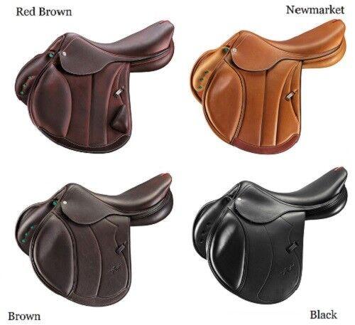 Selleria EQUIPE EMPORIO Leather Snaffle FLASH BRIDLE BRE08 Black//Brown P//C//F