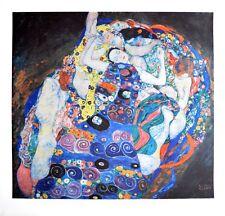 Gustav Klimt Jungfrau Poster Kunstdruck Bild Lichtdruck 70x72cm