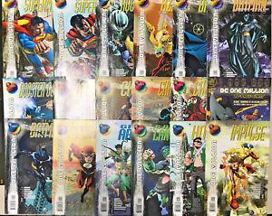 DC-ONE-MILLION-NM-LOT-OF-40-BOOKS-COMPLETE-SERIES-1998-DC-COMICS