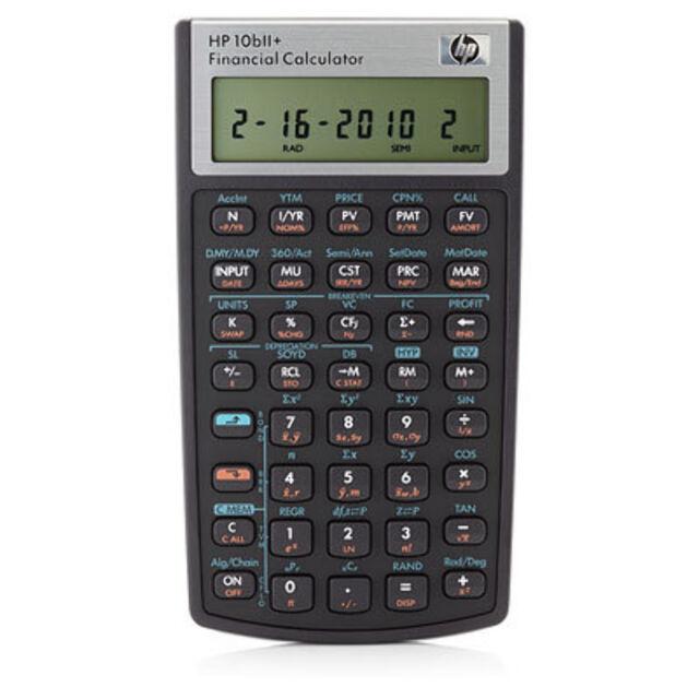 NEW HP 10bII+ Financial Calculator