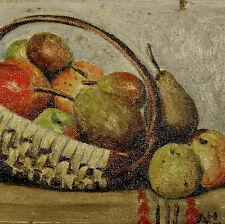 Natura Morta Olio su Tela cm. 28 x 18