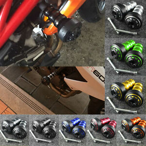 image is loading motorcycle frame sliders crash guard protector for honda - Motorcycle Frame Sliders