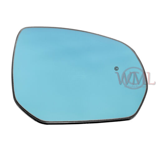 CITROEN C4 PICASSO 2007-/>2013 DOOR MIRROR GLASS BLUE,HEATED /& BASE,RIGHT SIDE