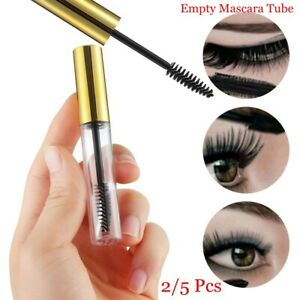 ecf6ece9f56 Image is loading Mascara-Tube-With-Brush-Refillable-Bottles-Empty-Container-