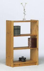 Massivholz Regal 64x100cm Kiefer Massiv Gelaugt Geölt Bücherregal