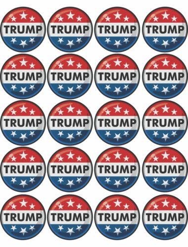 39-08 Trump 2020 election Pin Decal Set vinyl sticker MAGA Patriotic republican