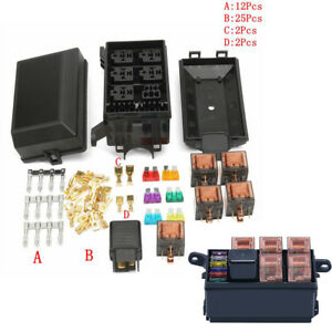 Fuse-box-automatically-6-relay-holder-5-suitable-for-car-luggage-ATV-insurance