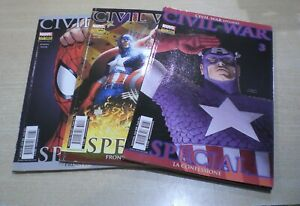 CIVIL-WAR-SPECIAL-Serie-1-3-Marvel-italia-Panini-Comics