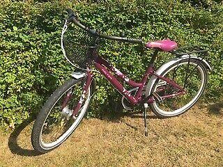 Tre børnecykler god stand 6-11 år