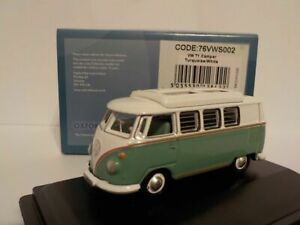 VW-T1-Camper-Green-White-Model-Car-Oxford-Diecast-1-76-New