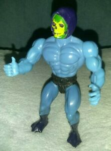 Vintage-1981-Mattel-Masters-of-the-Universe-MOTU-He-Man-Skeletor-Figure-1st-gen