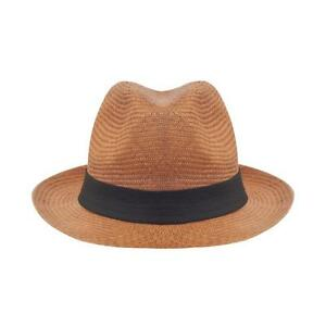Traditional Classic Style Brimmed Genuine Panama Hat Straw ...