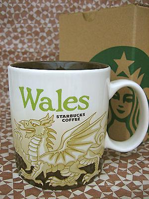 STARBUCKS Wales UK MUG, 16 oz ceramic NEW