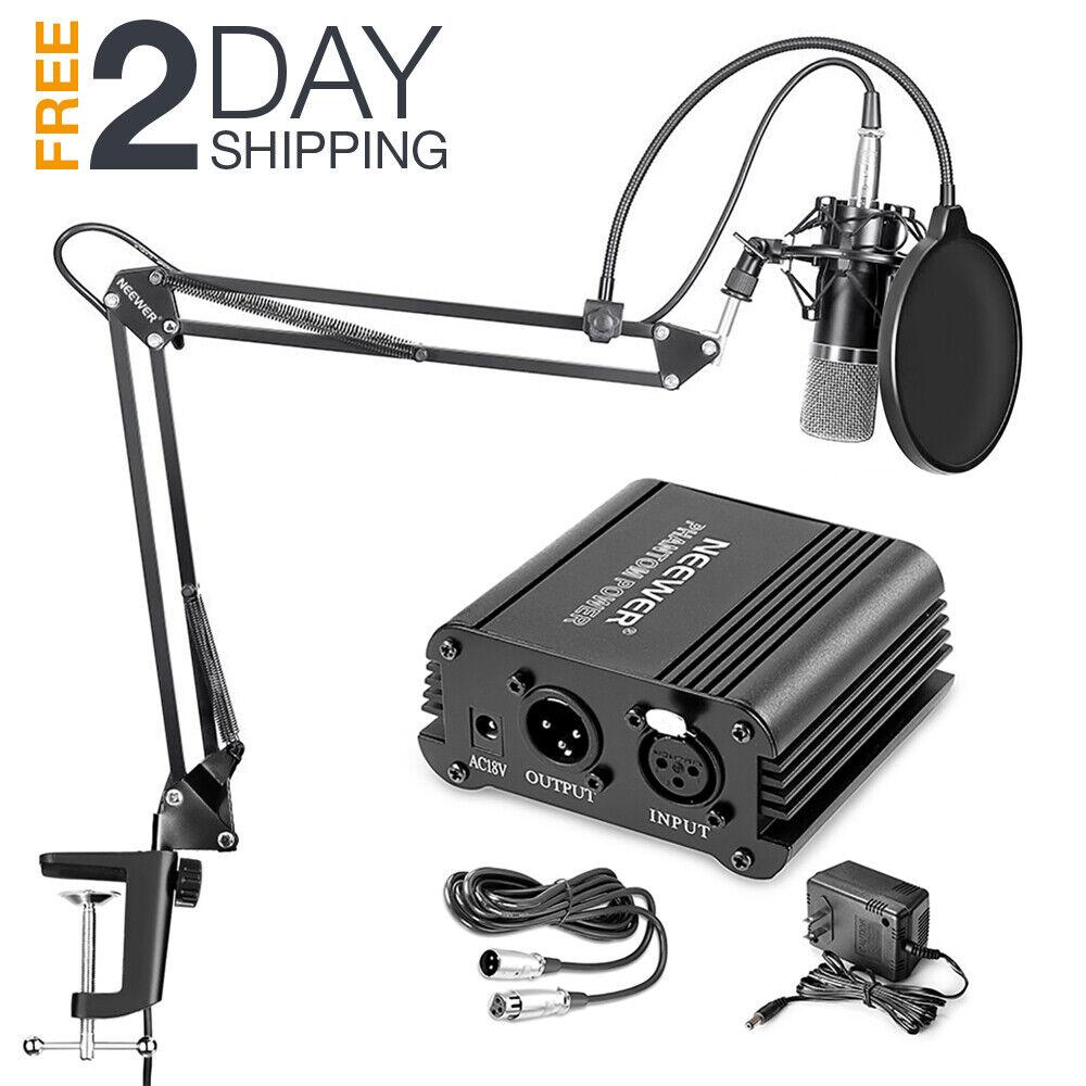 Details about Music Recording Equipment Home Studio Package Bundle  Professional Broadcast Set