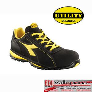travail Utility sᄄᆭcuritᄄᆭ de Black Diadora Glove Chaussures S3 Ii Low au c354AqjLR