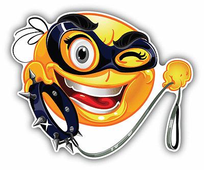 "Cloud Smile Kind Emotion Cartoon Funny Weather Car Bumper Sticker Decal 5/"" x 4/"""