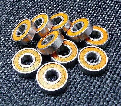 440c Stainless Steel CERAMIC Ball Bearing 8x16x4 mm 5 PCS S688W4-2RS ABEC-7