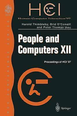People and Computers XII: Proceedings of HCI '97 (BCS Conference Series) by