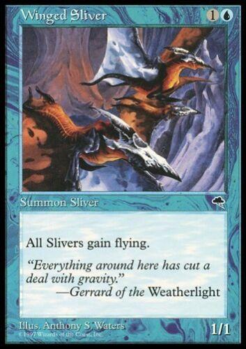 MTG 4x WINGED SLIVER Tempest *All Sliver Could Fly*