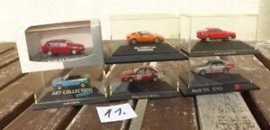 Herpa-Konvolut-1-87-H0-Konvolut-6-Stueck-PKW-DTM-Rennwagen-Audi-S2-A4-Avant-V8