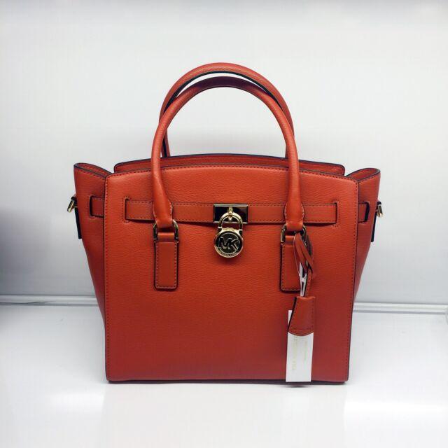 7505ef0a7fa00 Michael Kors Hamilton EW Satchel Pebble Leather 30S7GHMS7L for sale ...