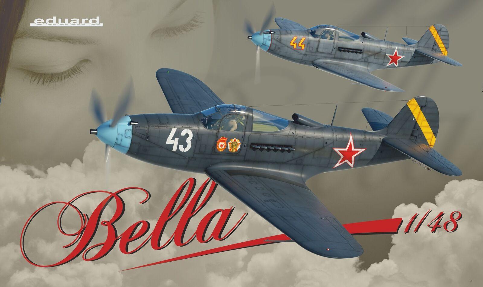 Eduard 1 48 P-39 Airacobra Bella Limited Edition K11118