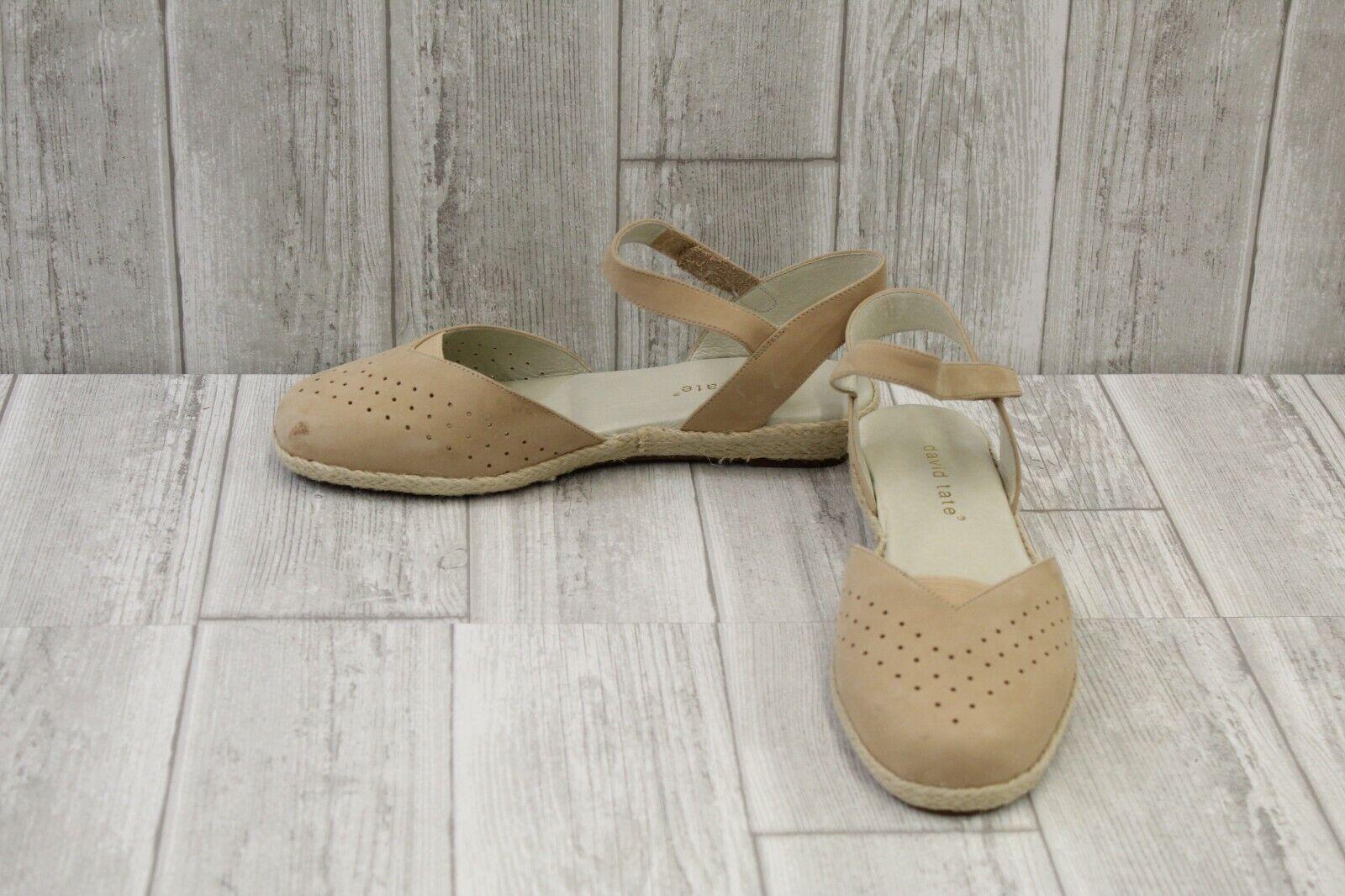 David Tate Canyon Sandal - Women's Size 9.5W, Natural