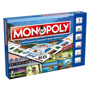 Monopoly Australian Community Relief Edition Board Game NEW
