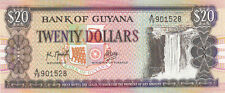 Billet banque GUYANA 20 $ NEUF NEW UNC