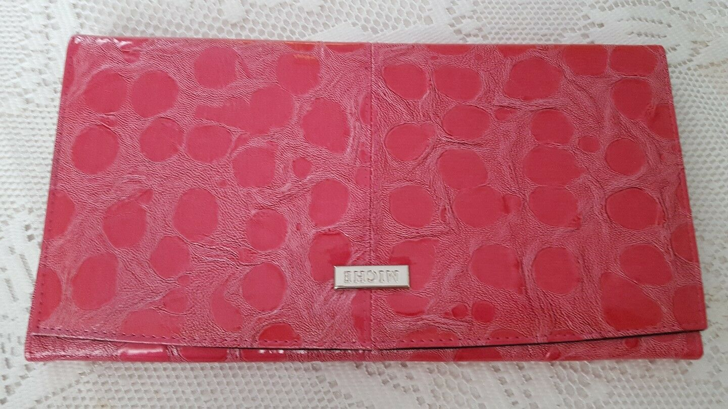 Miche SAMANTHA Pink NWOT Classic Shell Faux Leather Crocodile