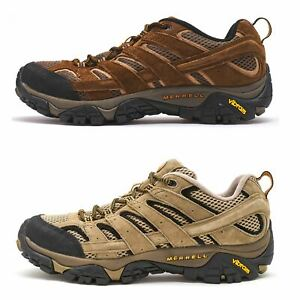 2315cda07594db Details about Merrell Moab 2 Mother of All Boots Ventilator Hiking Shoes  Pecan & Earth Brown