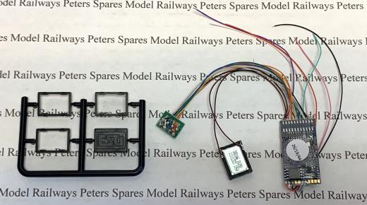 ESU 97417.S0165 LS V5 Class A4 DCC Sound Decoder 8 Pin (U Drive)