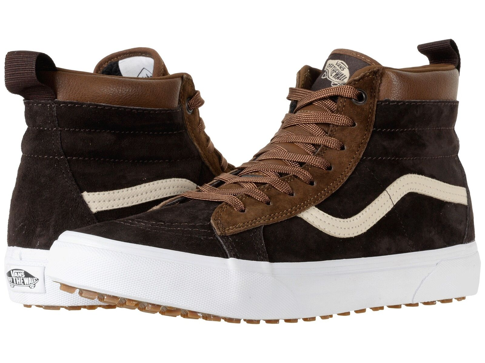 Vans Men's Sk8-Hi MTE Lace Up Fashion Sneaker Dark Earth Seal Brown