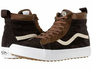Vans-Men-039-s-Sk8-Hi-MTE-Lace-Up-Fashion-Sneaker-Dark-Earth-Seal-Brown