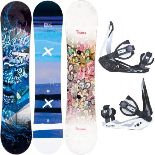 Trans Junior Snowboard-Set Kinder Snowboard inklusive Bindung Jungs Mädchen NEU