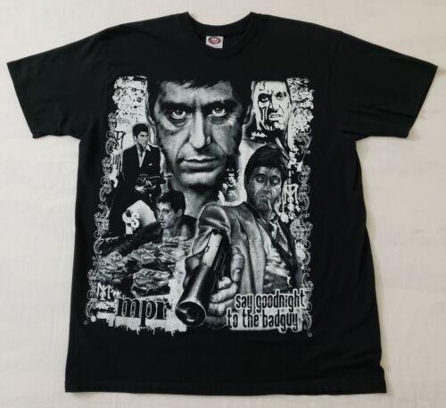 Vintage Scarface American Crime Drama Film Al Pacino Promo T-shirt Small size