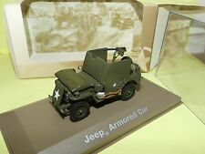 JEEP WILLYS SAS MILITAIRE ATLAS N°35 1:43