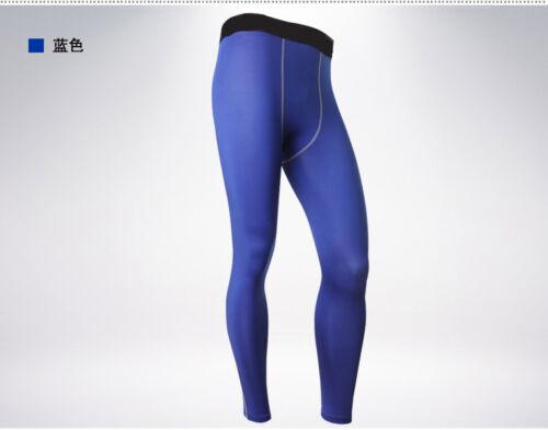 New DRI-FIT Mens Sport Full Long Pants Compression Wear Running Training Tights